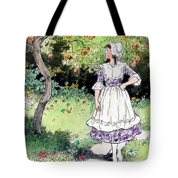 Frau Holle Also Known As Mother Holle Or Old Mother Frost Tote Bag