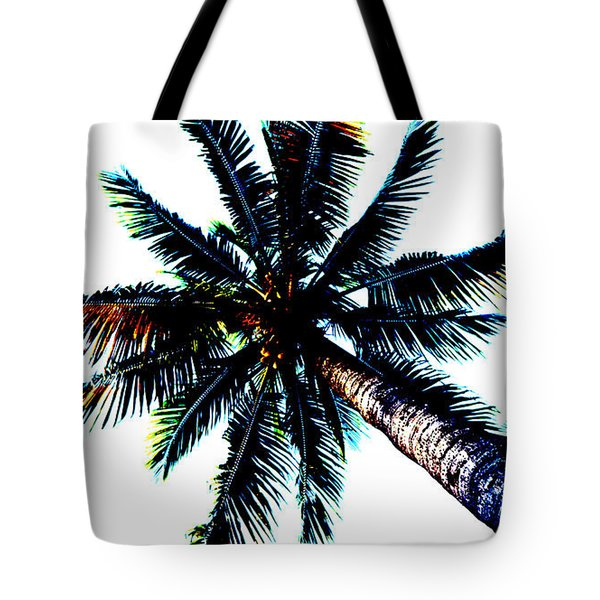 Frazzled Palm Tree Tote Bag