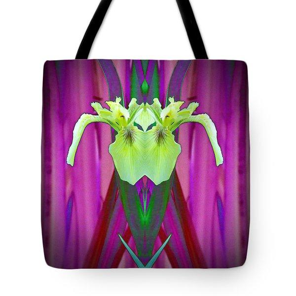 Freaky Iris Tote Bag