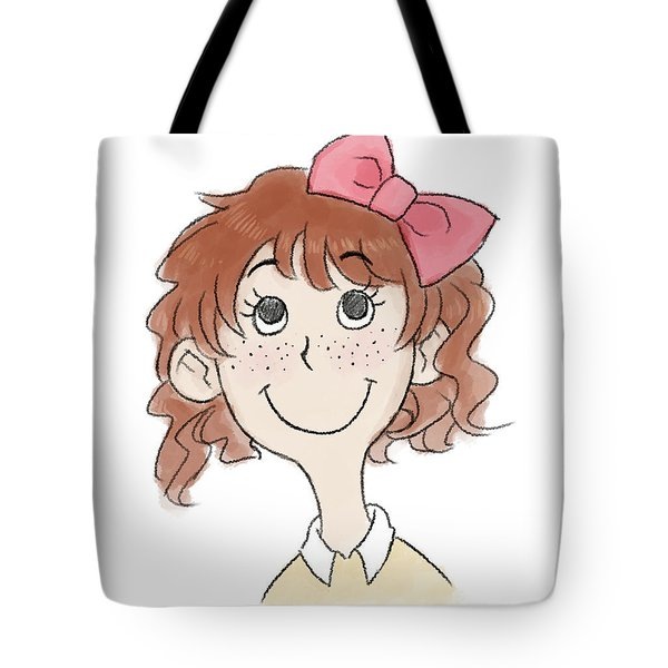 Freckle Face Coco Tote Bag