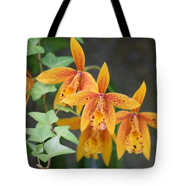 Tote Bag featuring the photograph Freckled Flora by Deborah  Crew-Johnson