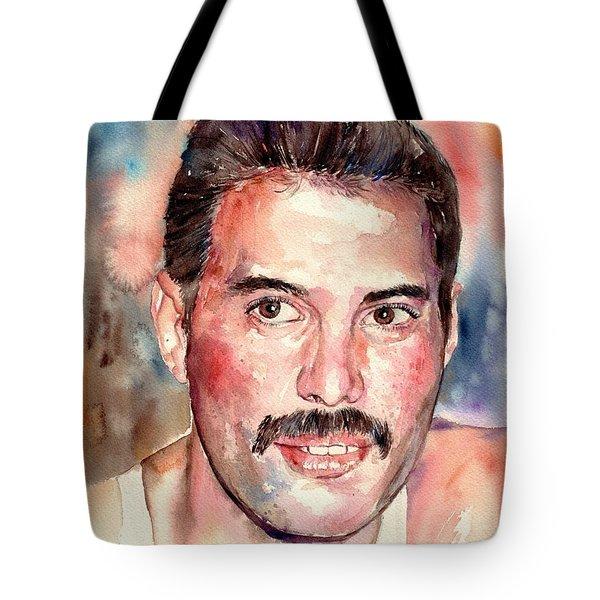 Freddie Smiling Tote Bag