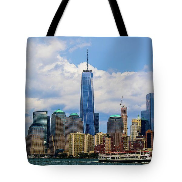 Freedom Tower Nyc Tote Bag