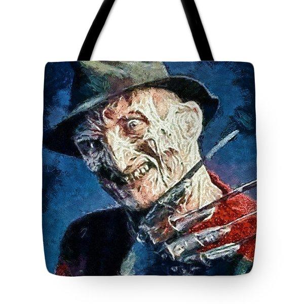 Freddy Kruegar Tote Bag