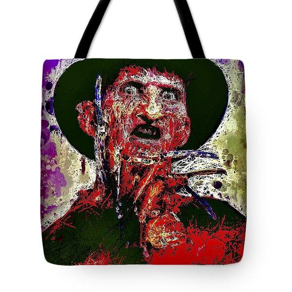 Freddy Krueger Tote Bag