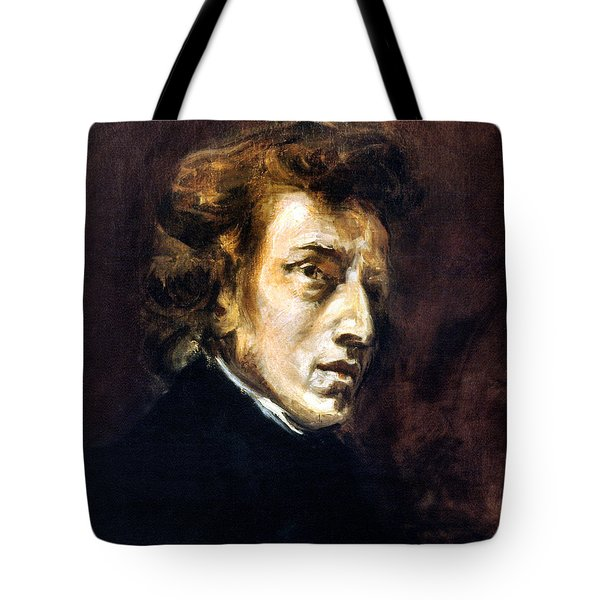 Frederic Chopin Tote Bag by Granger