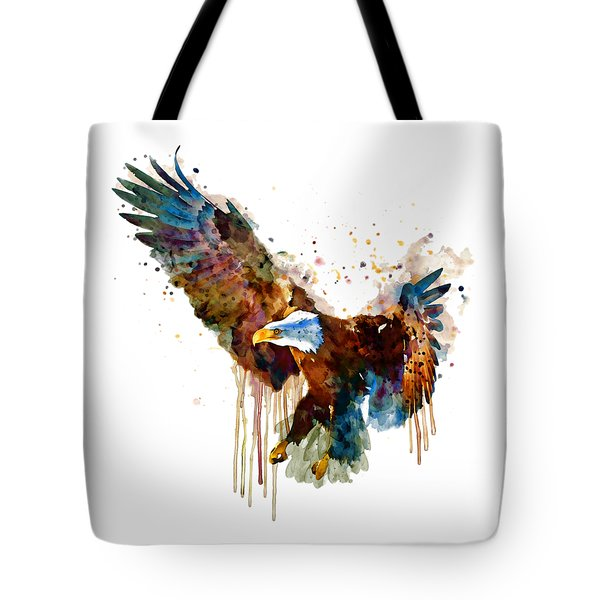Free And Deadly Eagle Tote Bag