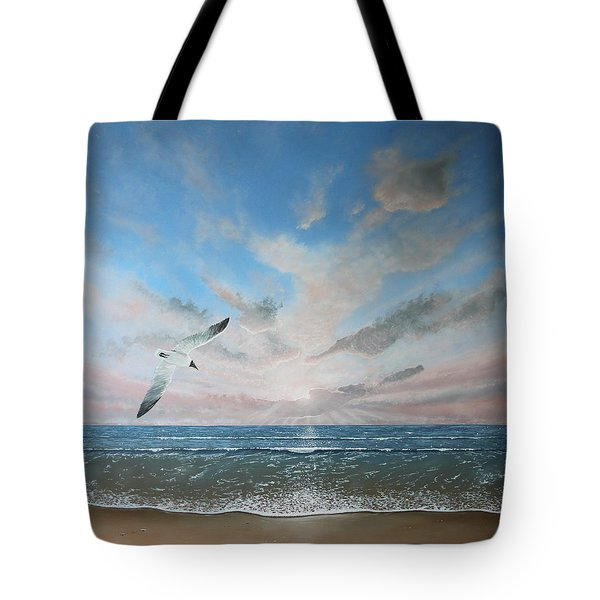 Free As A Bird Tote Bag by Paul Newcastle