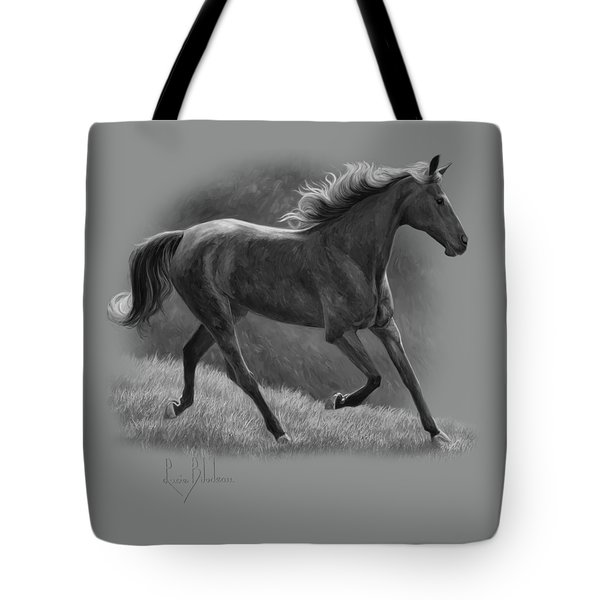 Free - Black And White Tote Bag