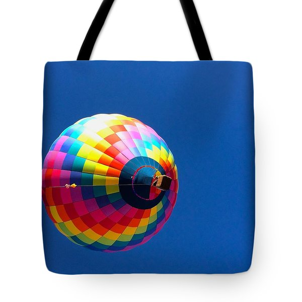 Tote Bag featuring the photograph Free by Brenda Pressnall