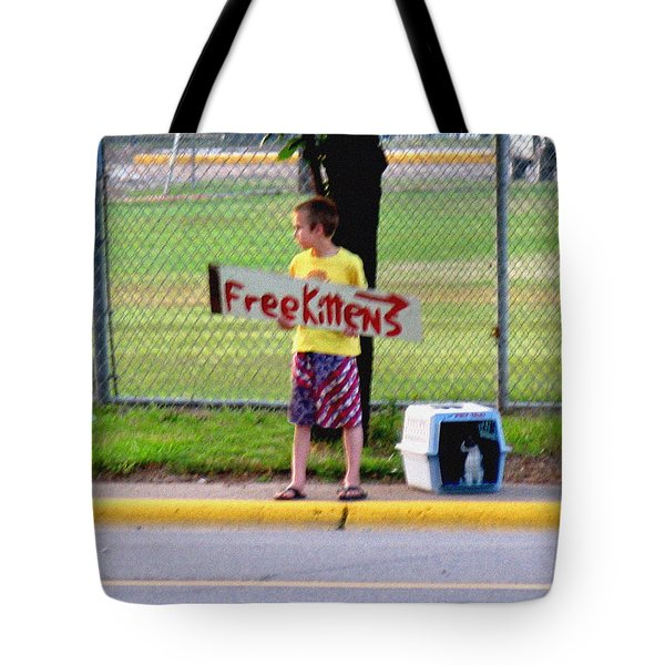 Free Kittens Tote Bag