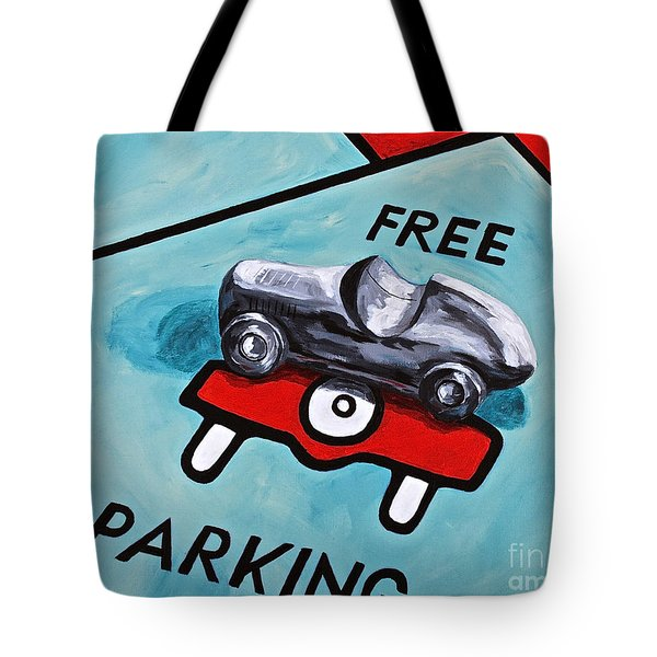 Free Parking Tote Bag by Herschel Fall