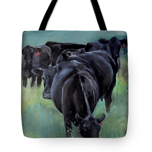 Free Range Cow Girls Tote Bag