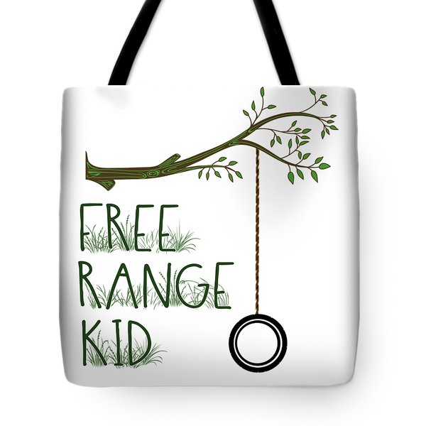 Free Range Kid Tote Bag
