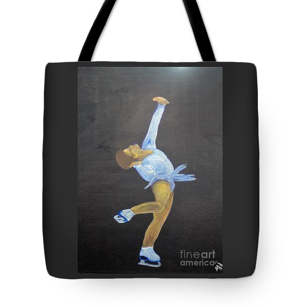 Tote Bag featuring the painting Free by Saundra Johnson