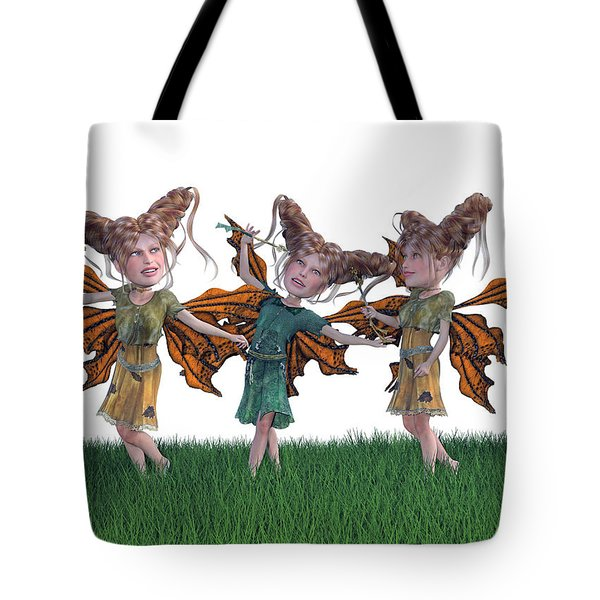 Free Spirit Friends Tote Bag by Betsy Knapp