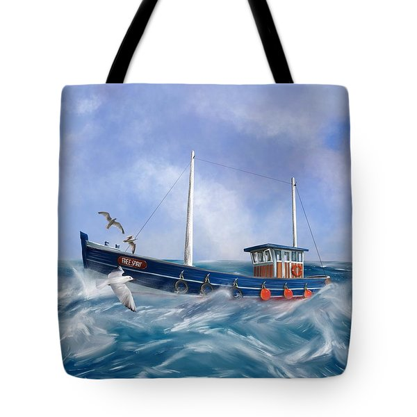 Tote Bag featuring the digital art Free Spirit by Mark Taylor