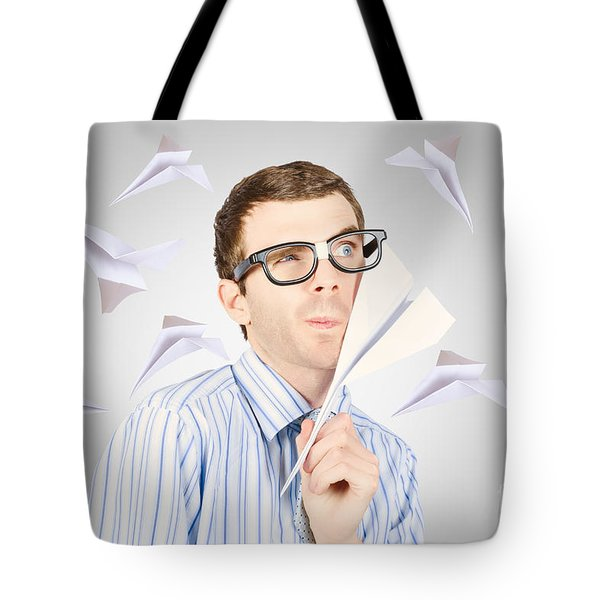 Free Thinking To Thoughts Fly Tote Bag