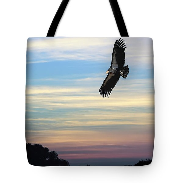 Free To Fly Again - California Condor Tote Bag