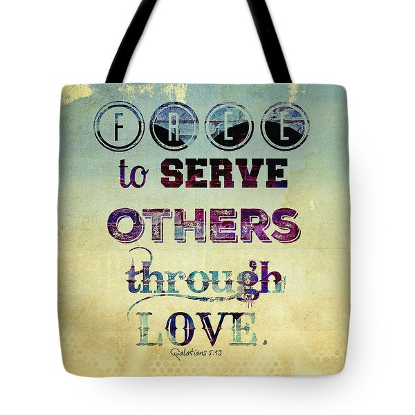 Free To Serve Tote Bag