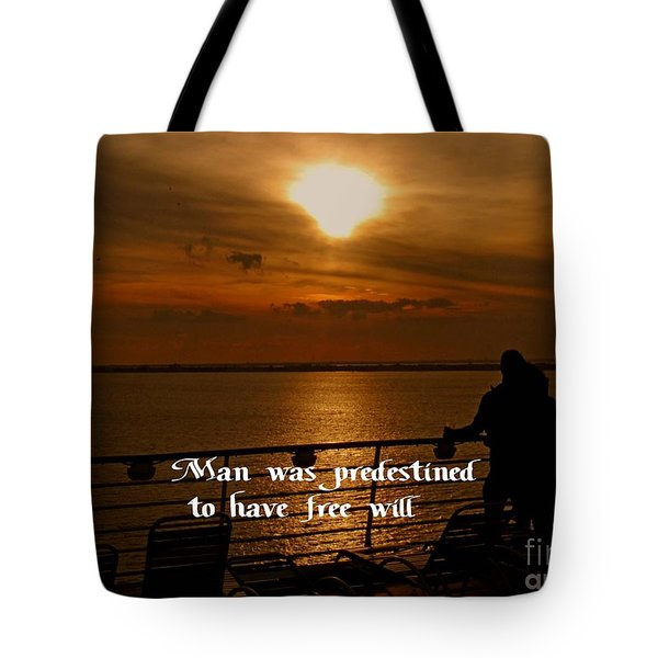 Free Will Tote Bag by Gary Wonning