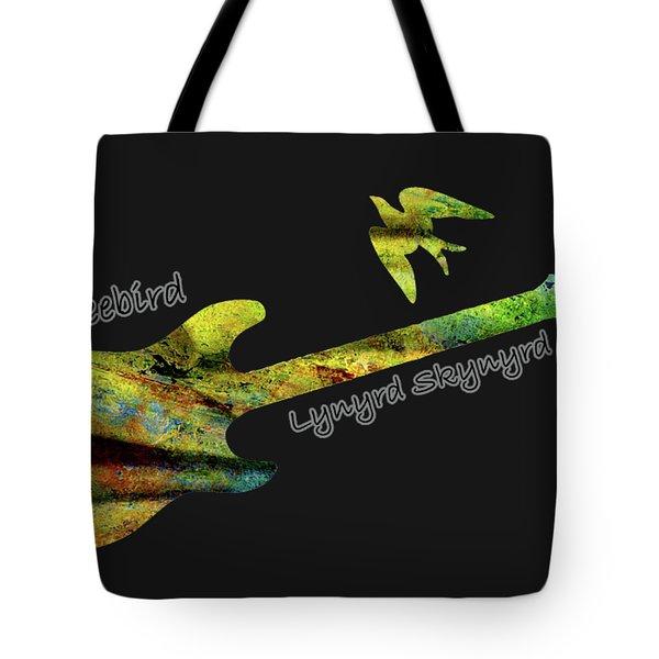 Freebird Lynyrd Skynyrd Ronnie Van Zant Tote Bag
