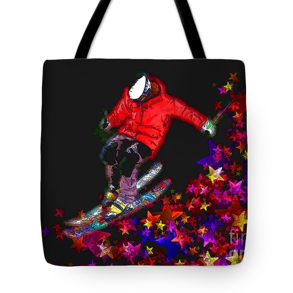Tote Bag featuring the digital art Freedom 2016 by Kathryn Strick