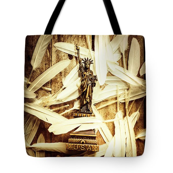 Freedom And Independence Tote Bag