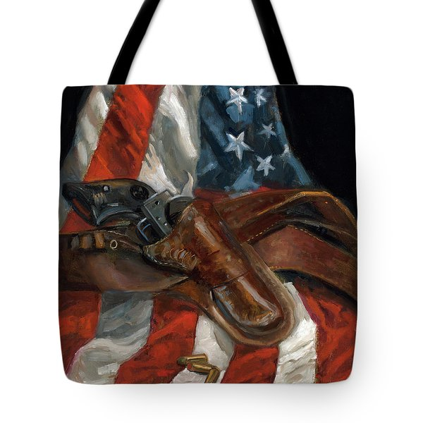 Tote Bag featuring the painting Freedom by Billie Colson