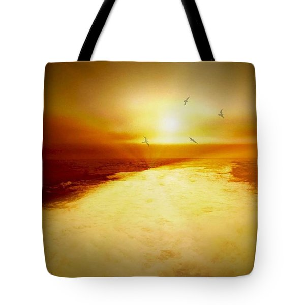 Freedom Escape Tote Bag by Linda Sannuti