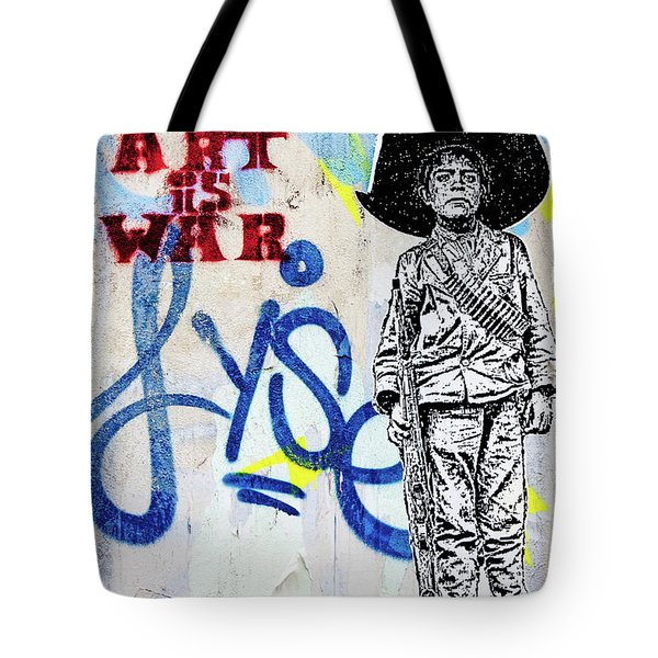 Tote Bag featuring the photograph Freedom Fighter by Art Block Collections
