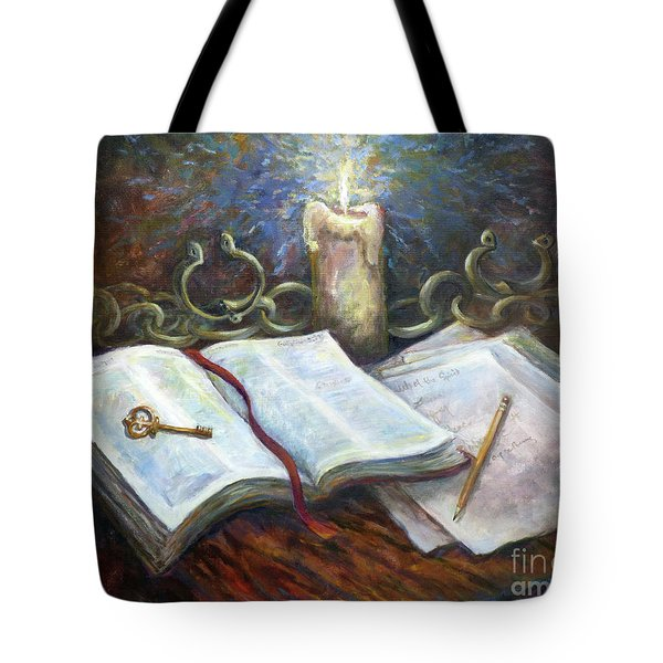 Freedom From The Chains That Bind Tote Bag