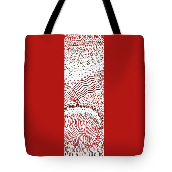 Freedom In Red Tote Bag