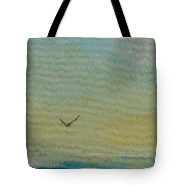 Tote Bag featuring the painting Freedom Is... by Jane  See