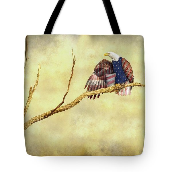 Tote Bag featuring the photograph Freedom by James BO Insogna
