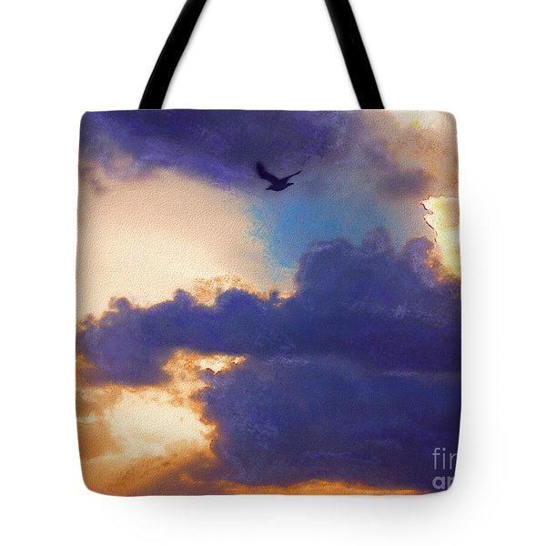 Tote Bag featuring the photograph Free by Jeff Breiman