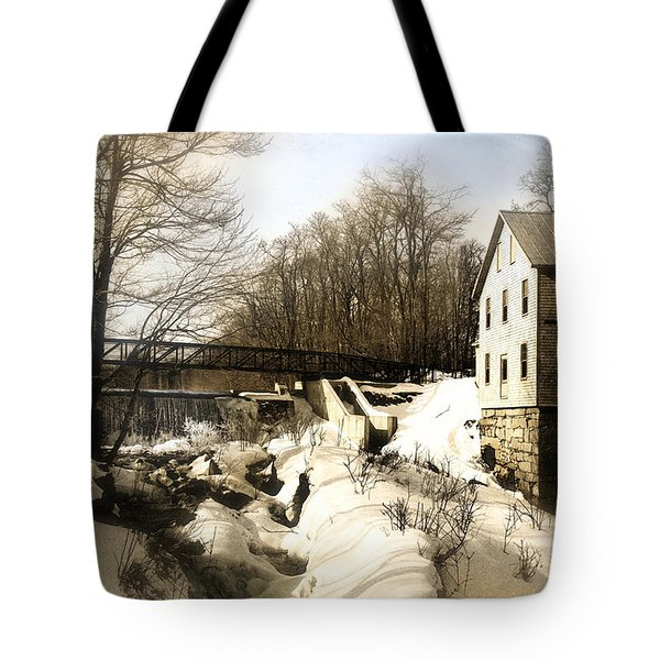 Freedom Mill Stream Tote Bag