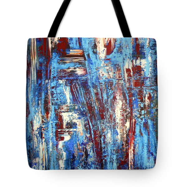 Freedom Of Expression Tote Bag by Valerie Travers