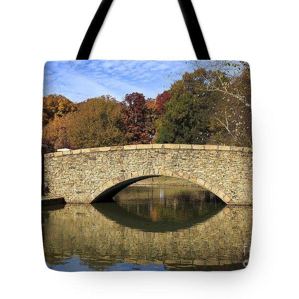Freedom Park Bridge Tote Bag