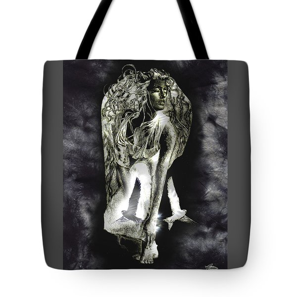 Tote Bag featuring the painting Freedom by Ragen Mendenhall