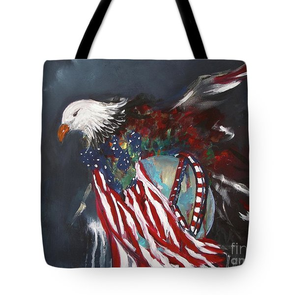 Freedom Rings Tote Bag