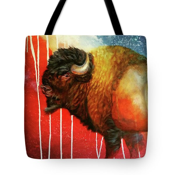 Freedom Roams Tote Bag