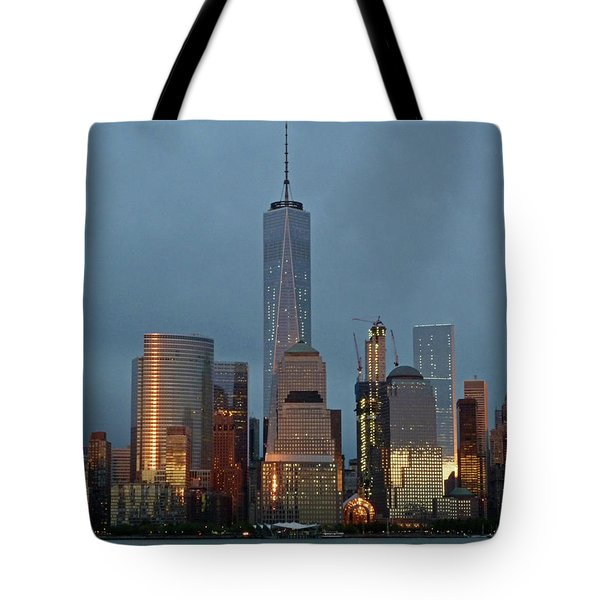 Freedom Tower At Dusk Tote Bag