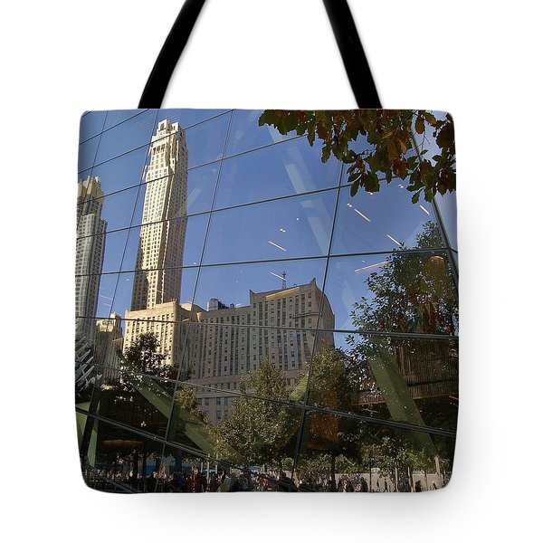 Ground Zero Reflection Tote Bag