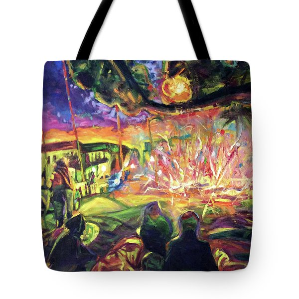 Freedom's Fire Tote Bag