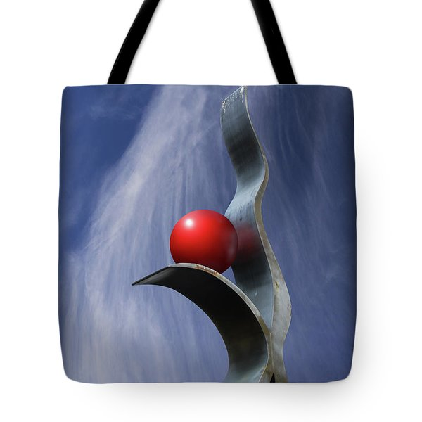 Freeform Isolation Tote Bag by Christopher McKenzie