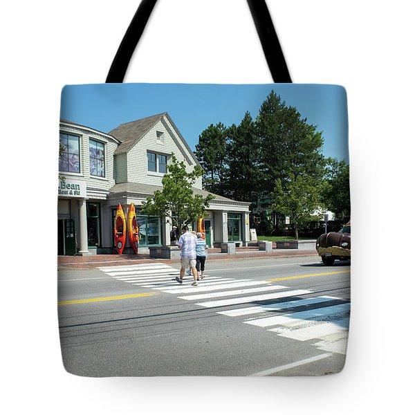 Freeport, Maine #130398 Tote Bag