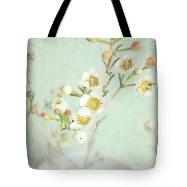 Freesia Blossom Tote Bag by Lyn Randle