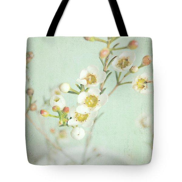 Freesia Blossom Tote Bag