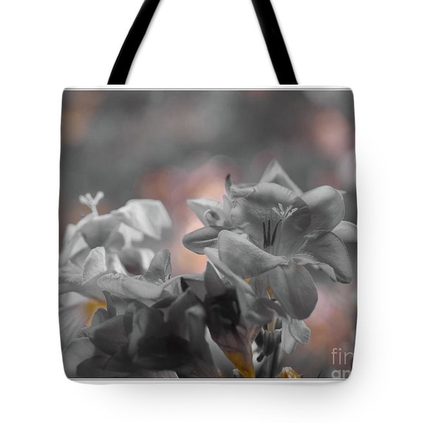 Freesia'a Without Colour Tote Bag